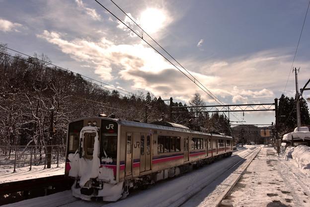正月の無人駅2