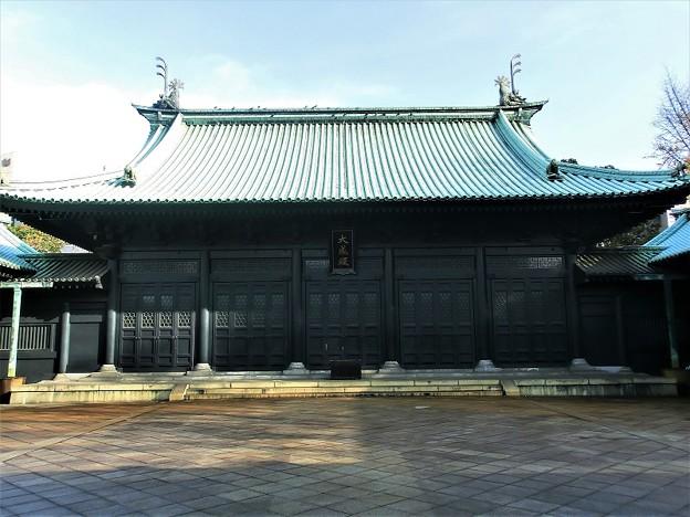 湯島聖堂 大成殿(孔子廟) (2)