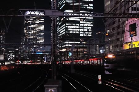E217系通勤快速小田原行き@有楽町