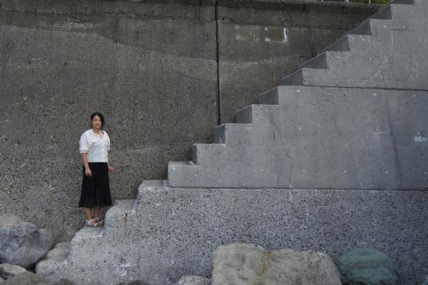 Block stairs