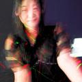 写真: Laser beam