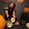 写真: Pumpkin head