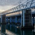 Photos: 京橋水管橋