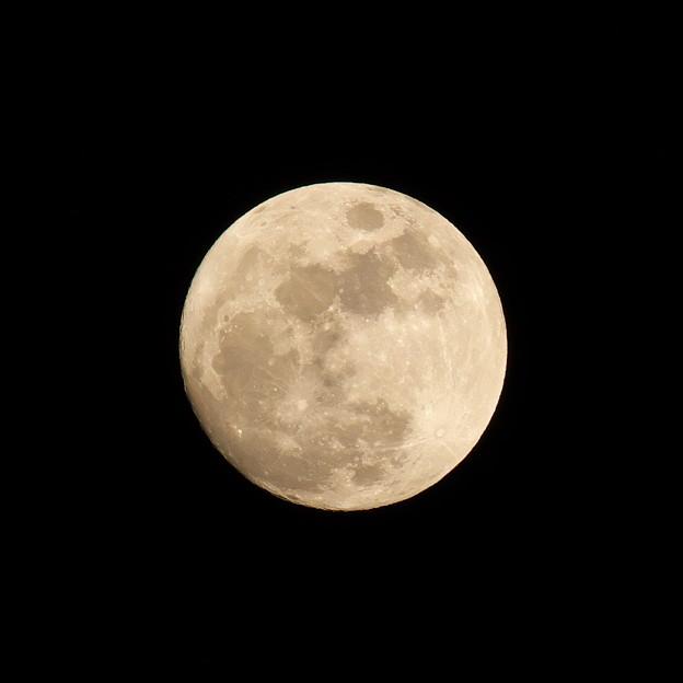 或る日のお月様
