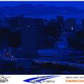 写真: 青い黄昏時