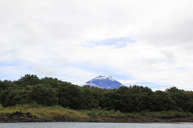 富士山が顔を出してくれたよ
