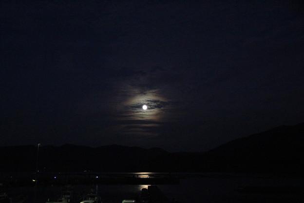 月夜の若狭湾