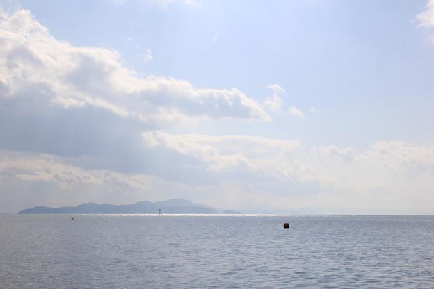 琵琶湖でカヤック