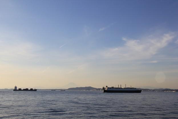 富士山が見えたよ