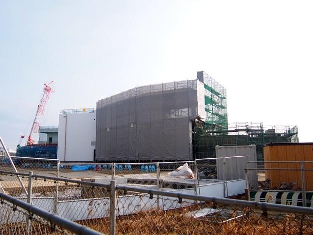 写真: 20150211 工事中の新水族館
