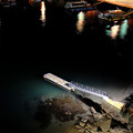 鳥羽港の夜
