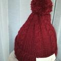 Photos: 手編み帽子ワッペンも作った