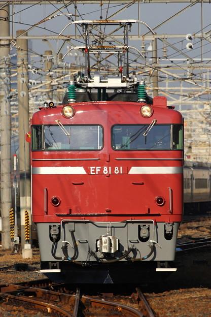 EF81-81号機カシオペアクルーズ送り込み回送