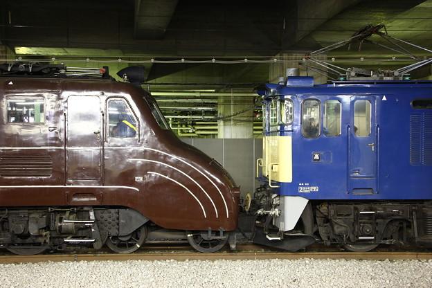 EF55-1号機OM入場配給