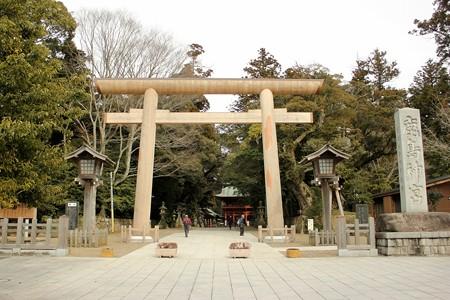 鹿島神宮入り口