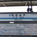 Photos: #TD01 大宮駅 駅名標