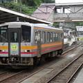 写真: 大糸線キハ120形300番台 キハ120-341