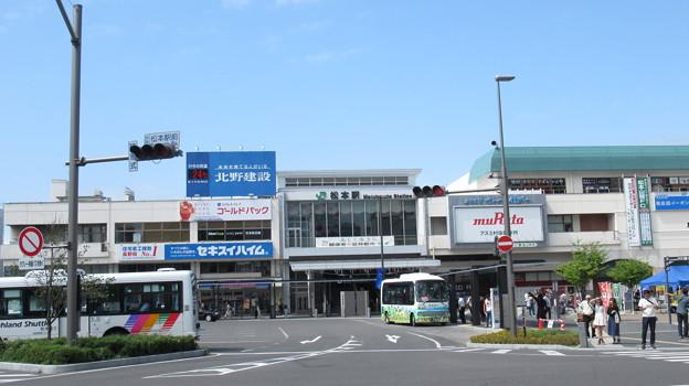 [JR東日本]松本駅 お城口