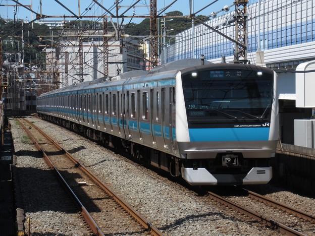 京浜東北・根岸線E233系1000番台 サイ163編成