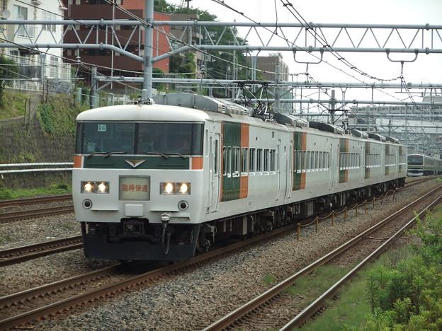 Photos: ホリデー快速鎌倉号185系200番台 B6編成