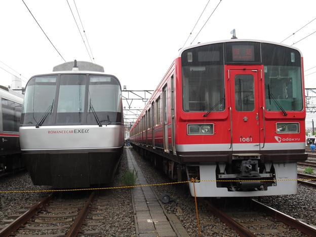 小田急30051F・1061F 2並び