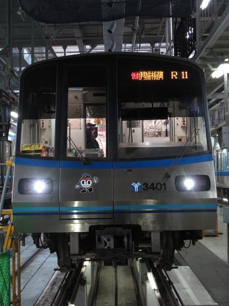 横浜市営3000R形 3401F