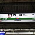 #JS22 赤羽駅 駅名標【湘南新宿ライン 南行】