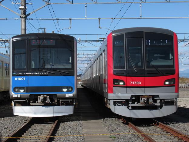 東武61601F・71703F 2並び