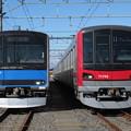 Photos: 東武61601F・71703F 2並び