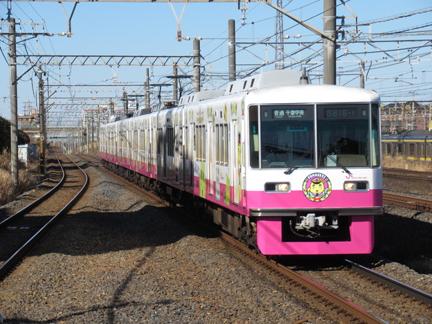 新京成線8800形 8816F【ふなっしートレイン】