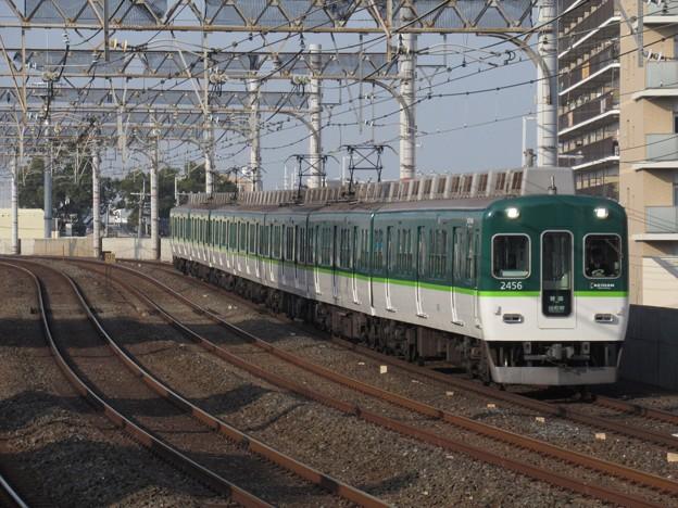 京阪線2400系 2466F