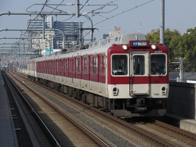 近鉄奈良線8000系 8726F+9027F