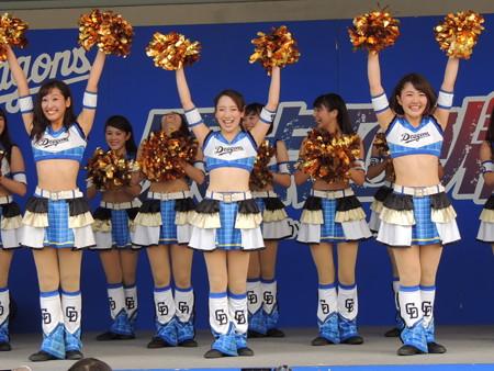 9/24(日) ナゴドファイナルの広島戦 ドリームスターズパーティーでした(アンコールもあったし)♪