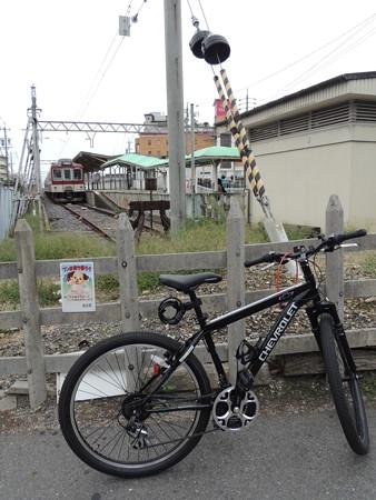 近鉄平田町駅。
