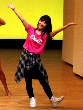 ダンスの先生。