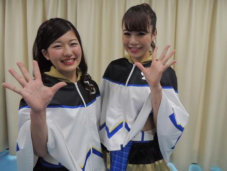 宮川さんと寺田さん。
