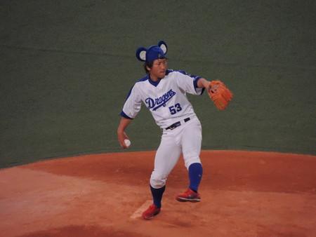 亀澤投手。
