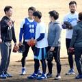 写真: 近藤選手かな(左から2人目)。