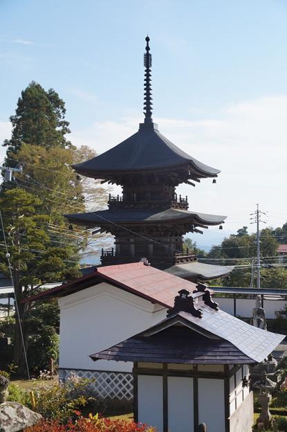 高山寺 三重塔