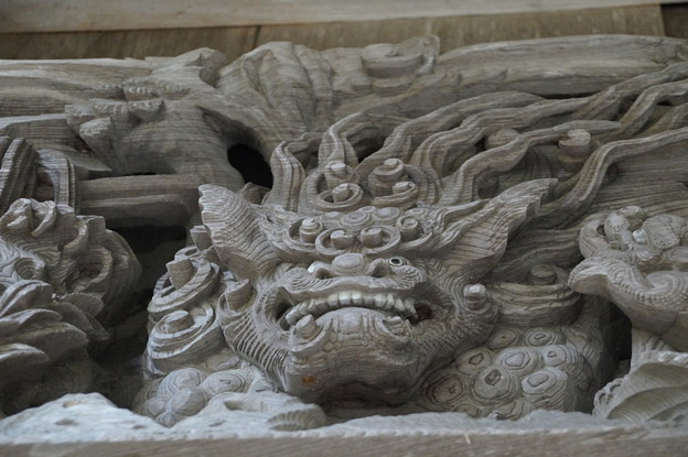 牛尾神社 彫刻