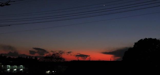 夕暮れの空・・・1   02:09 (17:50)