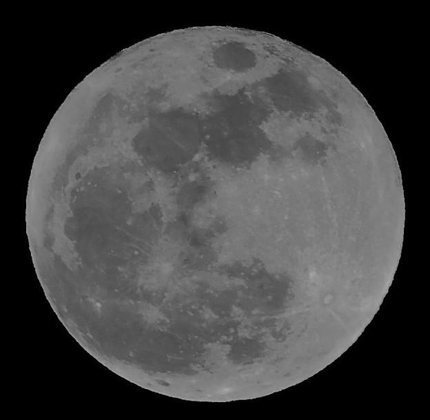 新年の満月は・・スーパ-ム-ン 2018:01:02
