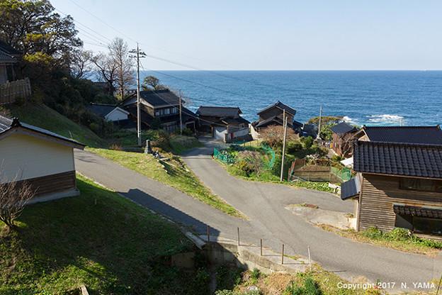門前町吉浦風景