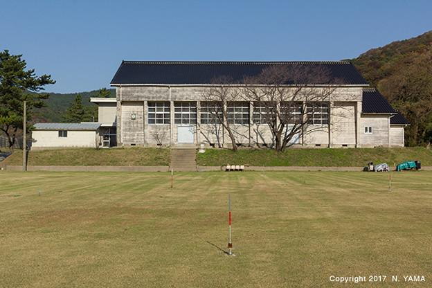 旧 門前町立七浦中学校 木造体育館