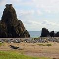 1.犬若海岸の岩山A