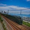写真: 明石海峡の瑞風