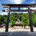 写真: 石見国一宮 物部神社