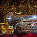 写真: サンタパレード