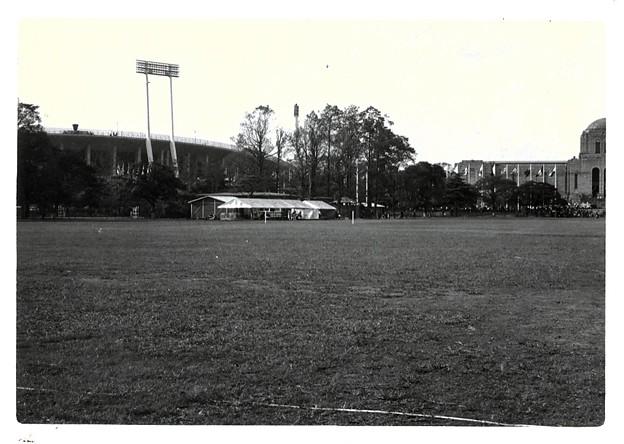 国立競技場 昭和39年頃