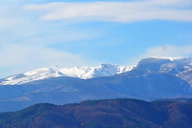 乳首山にも雪が~